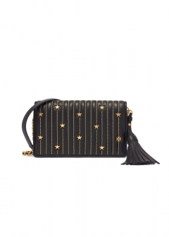 STAR STUD FLAT WALLET CROSS-BODY