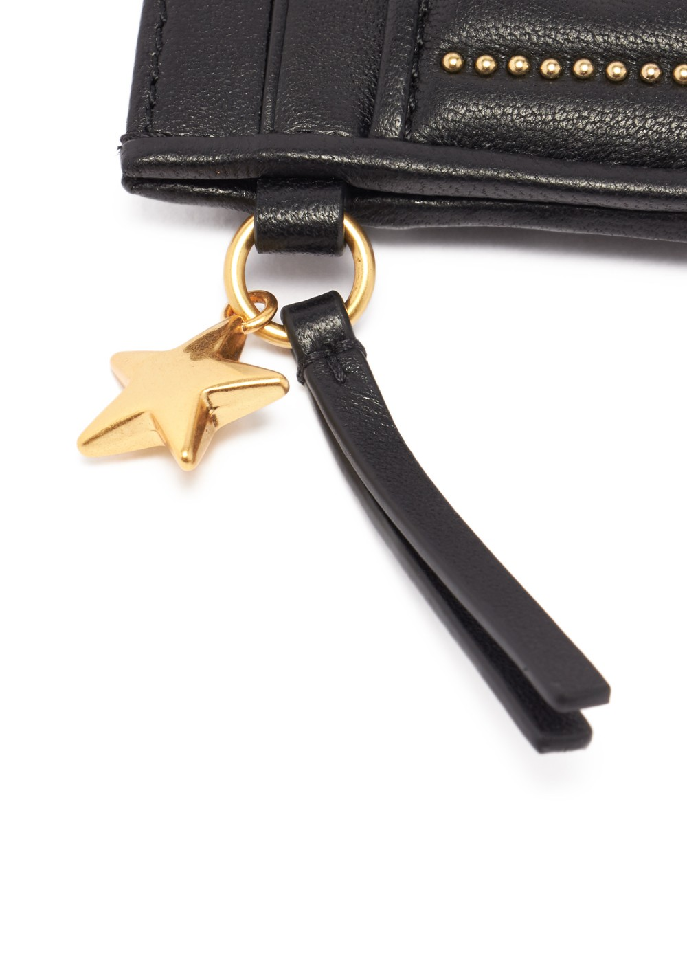 【最大48%OFF】STAR STUD SLIM CARD CASE|BLACK|カードケース|Tory Burch