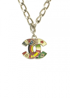 CHANEL COCO JEWELRY - CHANEL フラッグ国旗ネックレスSV 03A