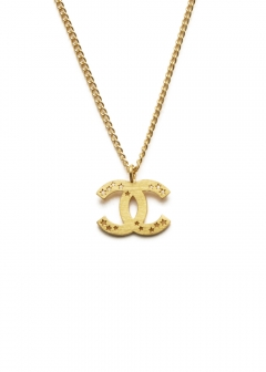 CHANEL COCO JEWELRY - 【4/3入荷】CHANEL スターネックレスGD 03A