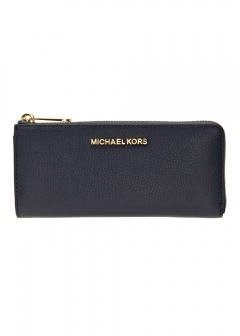 MICHAEL KORS - 【3/3入荷】JET SET TRAVEL LG THREE QTR ZIP L字ファスナー長財布