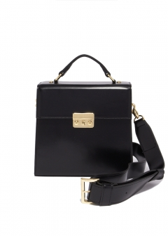 【最大70%OFF】square leather bag|BLACK|ショルダーバッグ|【Price Down】eimy istoire