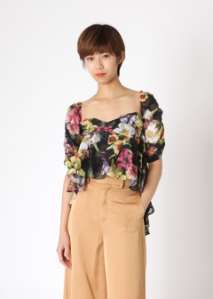 【3/23入荷】paradiso flower 2wayトップス