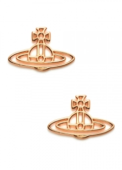 Vivienne Westwood Accessory - 【3/18入荷】THIN LINES FLAT ORB STUD EARRINGS