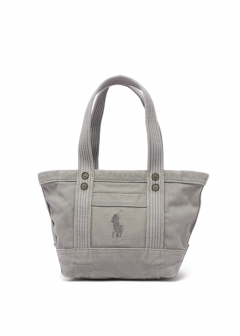 RALPH LAUREN - 【3/18入荷】CANVAS MINI PP TOTE