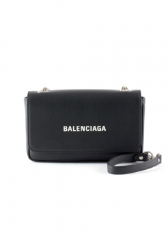 BALENCIAGA - EVERYDAY L CHAIN WALLET
