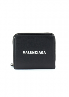 BALENCIAGA - EVERYDAY BILLFOLD ZIP WALLET