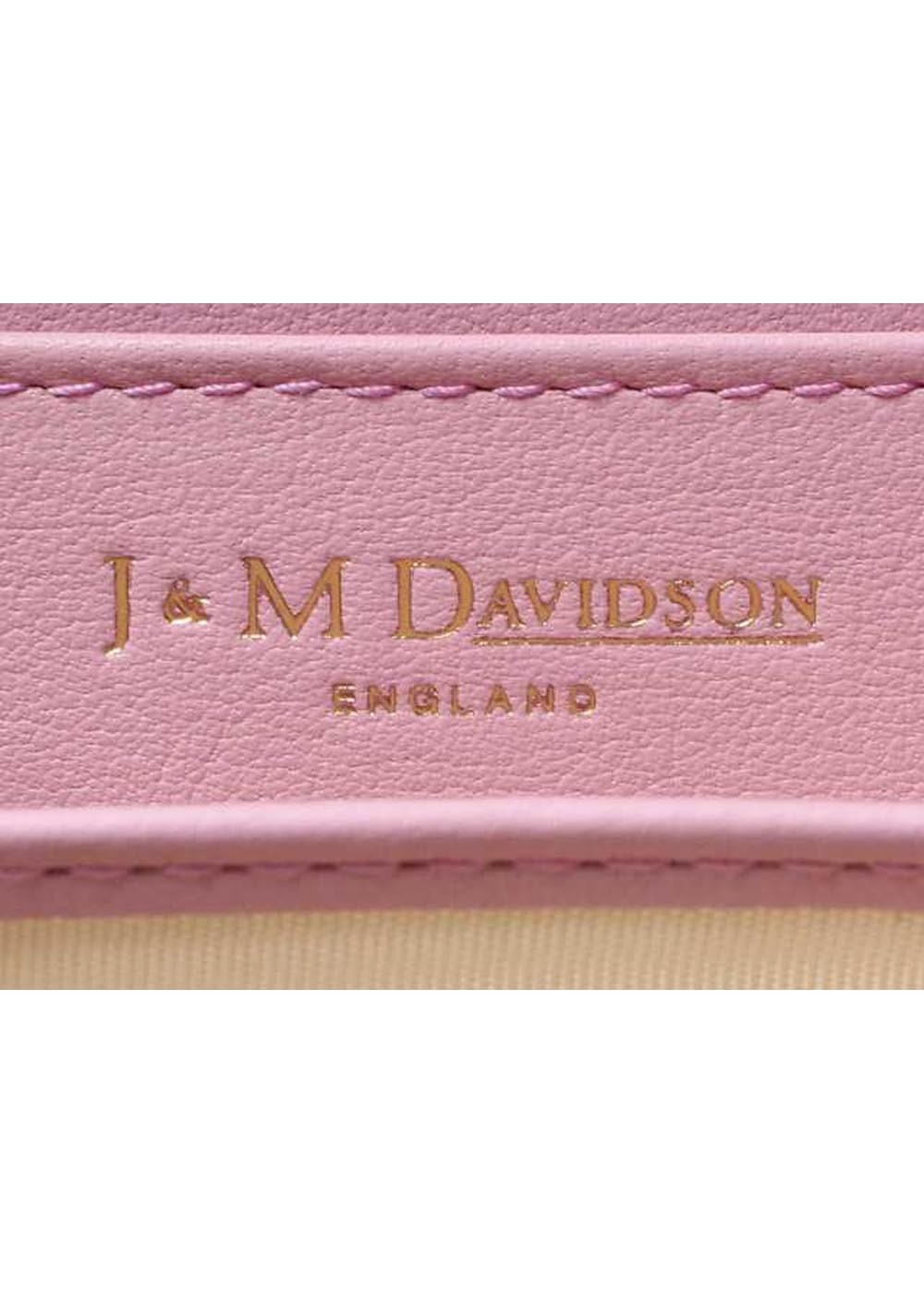 【最大57%OFF】Small Zip Purse|Misty Rose|カードケース|J&M DAVIDSON