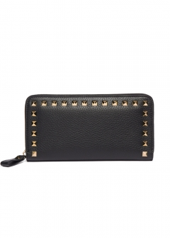 【3/28入荷】【'19春夏新作】ROCKSTUD ZIP AROUND WALLET