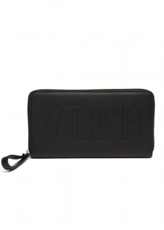 【'19春夏新作】VLTN ZIP AROUND WALLET