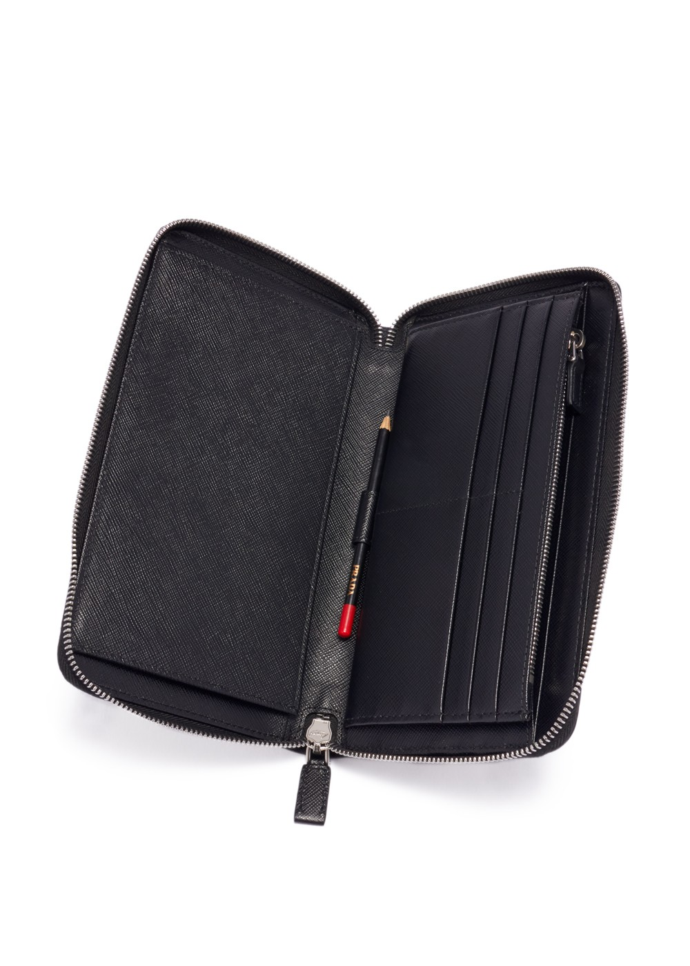 【最大36%OFF】DOCUMENT HOLDER|NERO|カードケース|PRADA - wallet and more