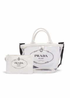 PRADA - Bag -  CANAPA PLEX S FABRIC HANDBAG