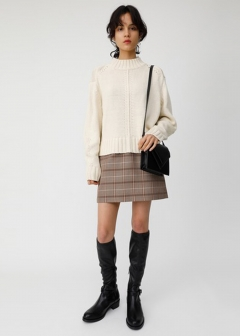CLASSIC CHECK MINI SKIRT