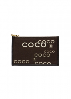 CHANEL - vintage selection - - CHANEL COCOキャンバスケース