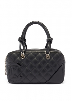CHANEL - vintage selection - - 【4/17入荷】CHANEL ミニボーリング カンボン