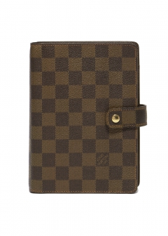 VINTAGE BRAND COLLECTION - 【4/17入荷】Louis Vuitton R20701 アジェンダMM ダミエ ノート付き