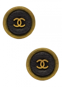 VINTAGE BRAND COLLECTION - CHANEL ココイヤリング3.5 94P