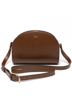A.P.C. - HALF MOON SHOULDER BAG