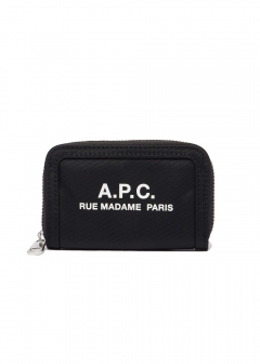 A.P.C. - RECUPERATION LOGO ZIP WALLET