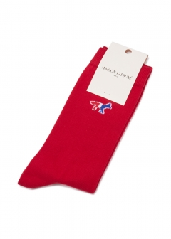 MAISON KITSUNE  - TRICOLOR FOX SOCKS