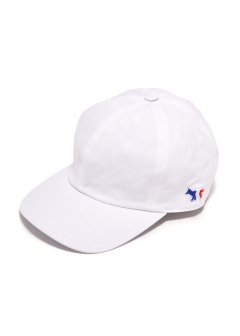 MAISON KITSUNE  - CAP 6P TRICOLOR FOX PATCH