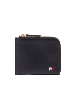MAISON KITSUNE  - TRICOLOR COIN PURSE LEATHER