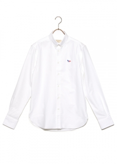OXFORD TRICOLOR FOX PATCH CLASSIC SHIRT BD
