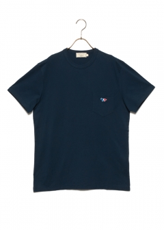 【4/9入荷】TEE-SHIRT TRICOLOR FOX PATCH