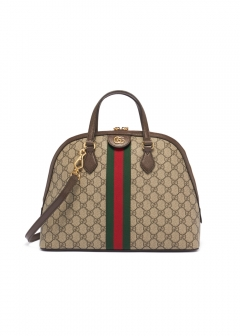 GUCCI - 2WAYハンドバッグ / OPHIDIA 【BEIGE/EBONY+BE.RED】