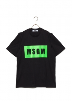 MSGM - BOX LOGO T-SHIRT