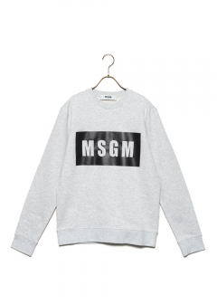 MSGM - BOX LOGO SWEAT