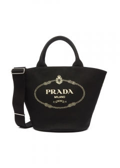 PRADA - Bag - CANAPA FABRIC HANDBAG