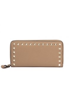 【'19春夏新作】ROCKSTUD ZIP AROUND WALLET