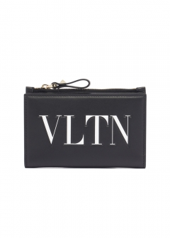 【'19春夏新作】VLTN COIN AND CARD CASE