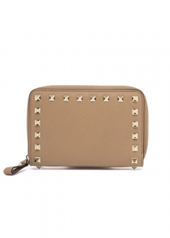 【'19春夏新作】ROCKSTUDS MEDIUM ZIP AROUND WALLET