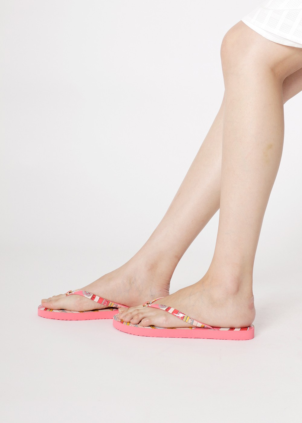 【最大48%OFF】【5/7入荷】PRINTED THIN FLIP FLOP|PINK CONSTELLATION|ビーチサンダル|Tory Burch