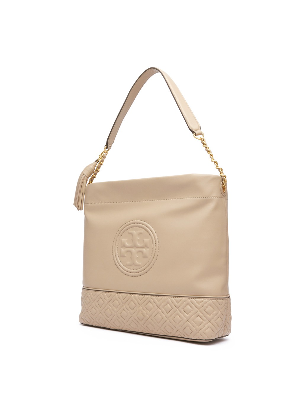 【最大47%OFF】FLEMING HOBO|LIGHT TAUPE|トートバッグ|Tory Burch