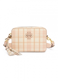 Tory Burch - MCGRAW PLAID CAMERA BAG