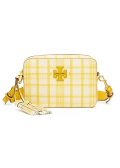 MC GRAW PLAID CAMERA BAG
