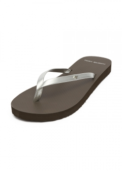 METALLIC LEATHER FLOP