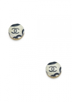 VINTAGE BRAND COLLECTION - CHANEL ココ歌舞伎ピアス 02P