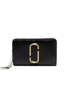 MARC JACOBS - COMPACT WALLET / SNAPSHOT 【BLACK MULTI】