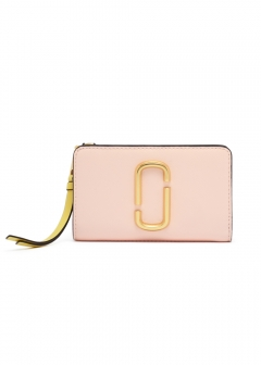 MARC JACOBS - COMPACT WALLET / SNAPSHOT 【BLUSHMULTI】