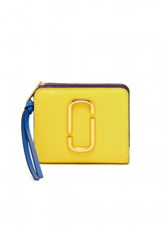 MINI COMPACT WALLET / SNAPSHOT 【LEMON MULTI】