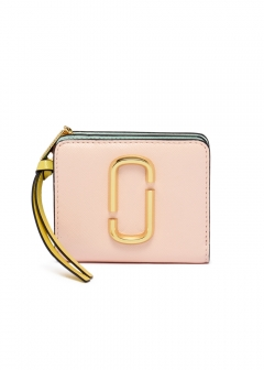 MARC JACOBS - MINI COMPACT WALLET / SNAPSHOT 【BLUSHMULTI】