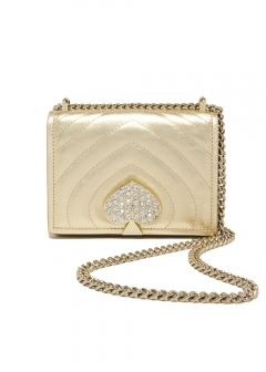 AMELIA JEWELED SMALL CONVERTIBLE FLAP SHOULDER