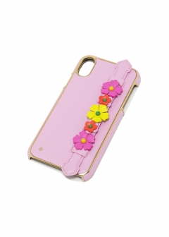 【5/20入荷】【'19春夏新作】IPHONE CASES FLORAL HANDSTRAP STAND - XR