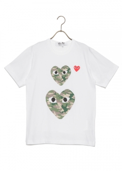 COMME des GARCONS - 【5/20入荷】PLAY CAMOUFLAGE T-SHIRT
