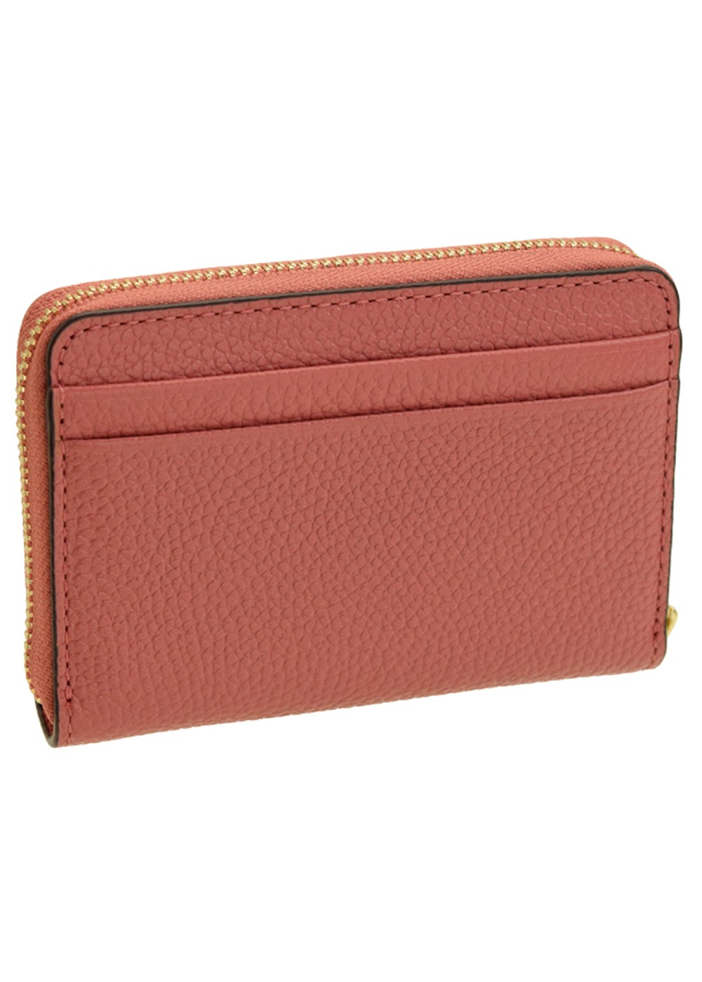 【5/22入荷】MONEY PIECES ZA COIN CARD CASE|ROSE 金具ゴールド|カードケース|MICHAEL KORS(C)