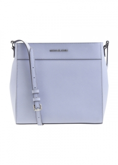 【5/22入荷】JET SET TRAVEL NS MESSENGER|PALE BLUE 金具シルバー|ショルダーバッグ|MICHAEL KORS